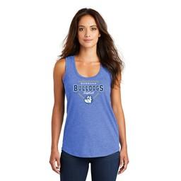 Burbank Softball Women's Perfect Tri Black Racerback Tank -DM138L