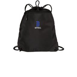Burbank Softball Cinch Bag BG810 Black