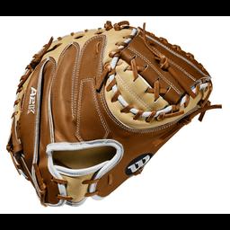 """Wilson A2K 33.5"""" Catcher's Mitt- WTAA2KRB20M1"""