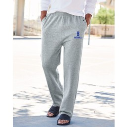 Burbank Baseball Champion - Double Dry Eco Open Bottom Sweatpants with Pockets - P800