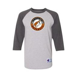Castaic Baseball  Champion  Raglan Baseball T-Shirt - T137