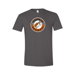 Castaic Baseball Gildan Charcoal Softstyle T-shirt - 64000