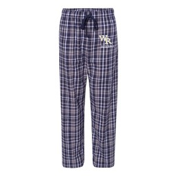 Wildcats Baseball Boxercraft Flannel Pants with Pockets - Unisex