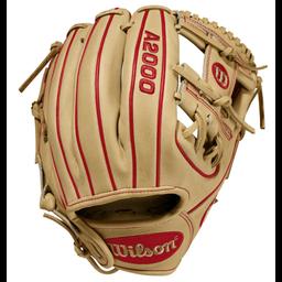 """Wilson A2000 DP15 11.5"""" Infield Baseball GLove- WTA20RB20DP15"""
