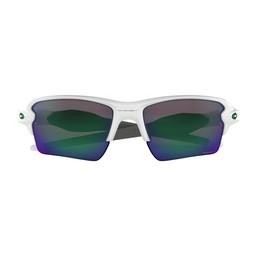 Oakley Flak™ 2.0 XL Team Colors- Polished White/Prizm Jade Iridium  -OO9188-9259