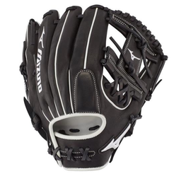 "Mizuno Pro Select 11.75"" Fastpitch Infield Glove - GPSF1175BK"
