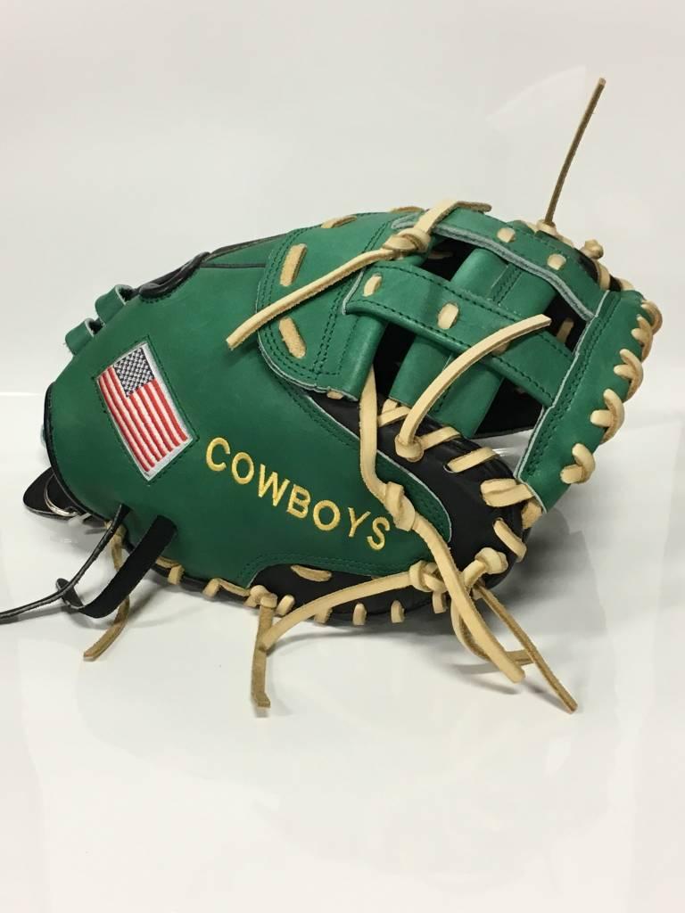 Liberty Advanced Custom Catchers Mitt: LACMFPB Cowboys Right Hand Throw -  Bagger Sports