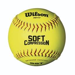 "Wilson Soft Compression 12"" Softball - 1 Dozen"