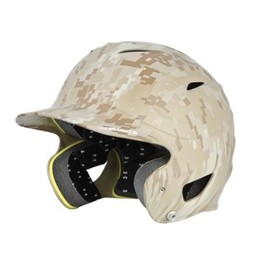 Under Armour Batters Helmet MIlitary Digi Camo Matte Finish-Sand