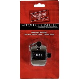 Rawlings Pitch Counter Mechanical Black - PCM