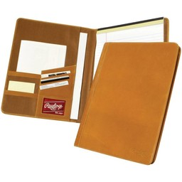 Rawlings Baseball Premium HOH Leather Portfolio. Tan. HOHPFT