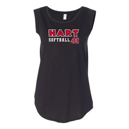 Hart Softball Alternative Women's Satin Jersey Cap Sleeve