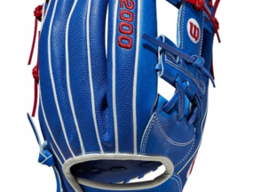 VLADIMIR GUERRERO JR. GAME MODEL CUSTOM A2000 1781 SS BASEBALL GLOVE - NOVEMBER 2019