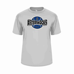 Aftershocks Youth Performance Jersey Silver