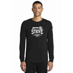 Strive Nike Dri-FIT Cotton/Poly Long Sleeve Tee