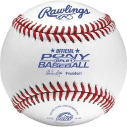 Rawlings RPLB1 Baseballs - 1 Dozen