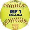 Worth Worth Softballs SR10RYSA 10 in Soft Dot - 1 Dozen