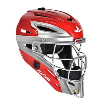 All Star System Seven Youth Two Tone Catching Helmet - MVP2510TT