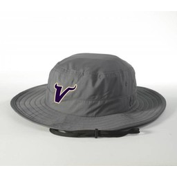 Valencia Baseball Richardson Wide Brim Bucket Hat 810 Graphite