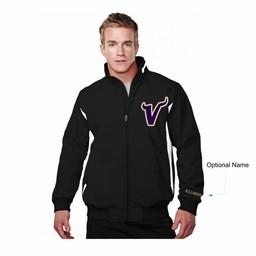 Valencia Baseball - 6430 Prometheus Jacket Black/White