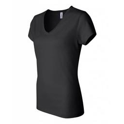 Blaze Baseball Academy Bella + Canvas - Women's Short Sleeve Jersey V-Neck Tee - 6005