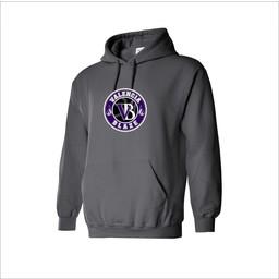Blaze Baseball Academy Gildan Cotton Youth Hoodie Graphite - 18500B