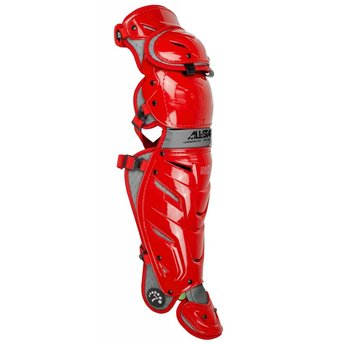 """All-Star S7 AXIS Adult Leg Guards 16.5""""- LG40WPRO"""