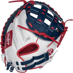 "Rawlings Liberty Advanced Color Series 33"" Fastpitch Catcher's Mitt -RLACM33FPWNS"