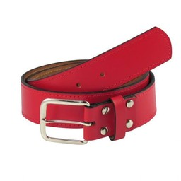 BHS Baseball TCK Adult Leather Belt