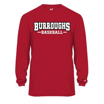 BHS Baseball Badger Ultimate SoftLock Tee L/S - 4004