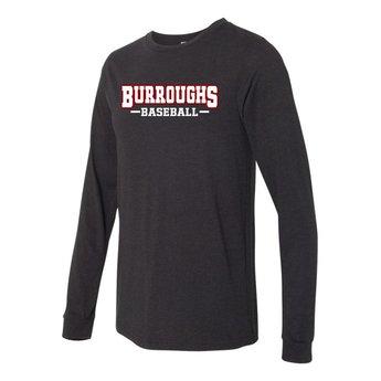 BHS Baseball  Canvas Long Sleeve Jersey Tee - 3501