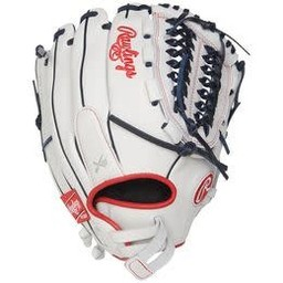"Rawlings Liberty Advanced 12.5"" Fastpitch Finger Shift Outfield Glove- RLA125FS-15WNS"
