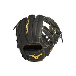 Mizuno Pro Limited Edition GMP400BK Infield Glove Black -Right Hand Throw