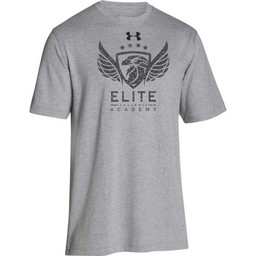 Elite Academy UA Men's Steel Stadium Short Sleeve T-Shirt- 1297709