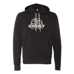 GVHS Volleyball Bella+Canvas Unisex Hooded Pullover Sweatshirt - 3719