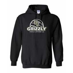 GVHS Volleyball Gildan Heavy Blend Hooded Sweatshirt - 18500
