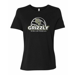GVHS Volleyball Bella + Canvas - Women's Relaxed Short Sleeve Jersey Tee - 6400
