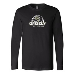 GVHS Volleyball Bella + Canvas - Long Sleeve Jersey Tee - 3501