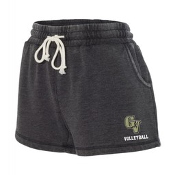 GVHS Volleyball - Boxercraft - Women's Enzyme-Washed Rally Shorts - K11