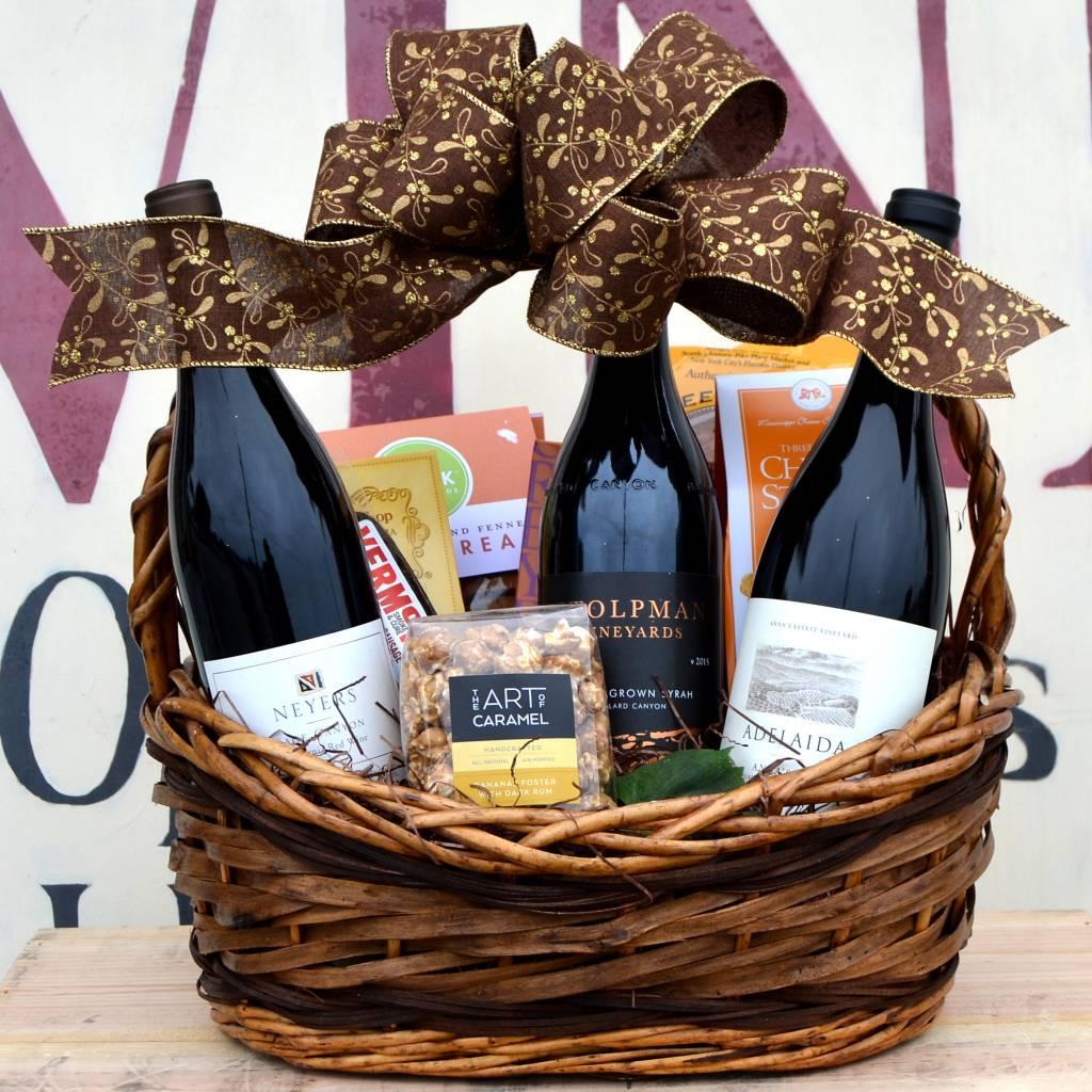 """California Rhone Adventure"" Gift Basket"