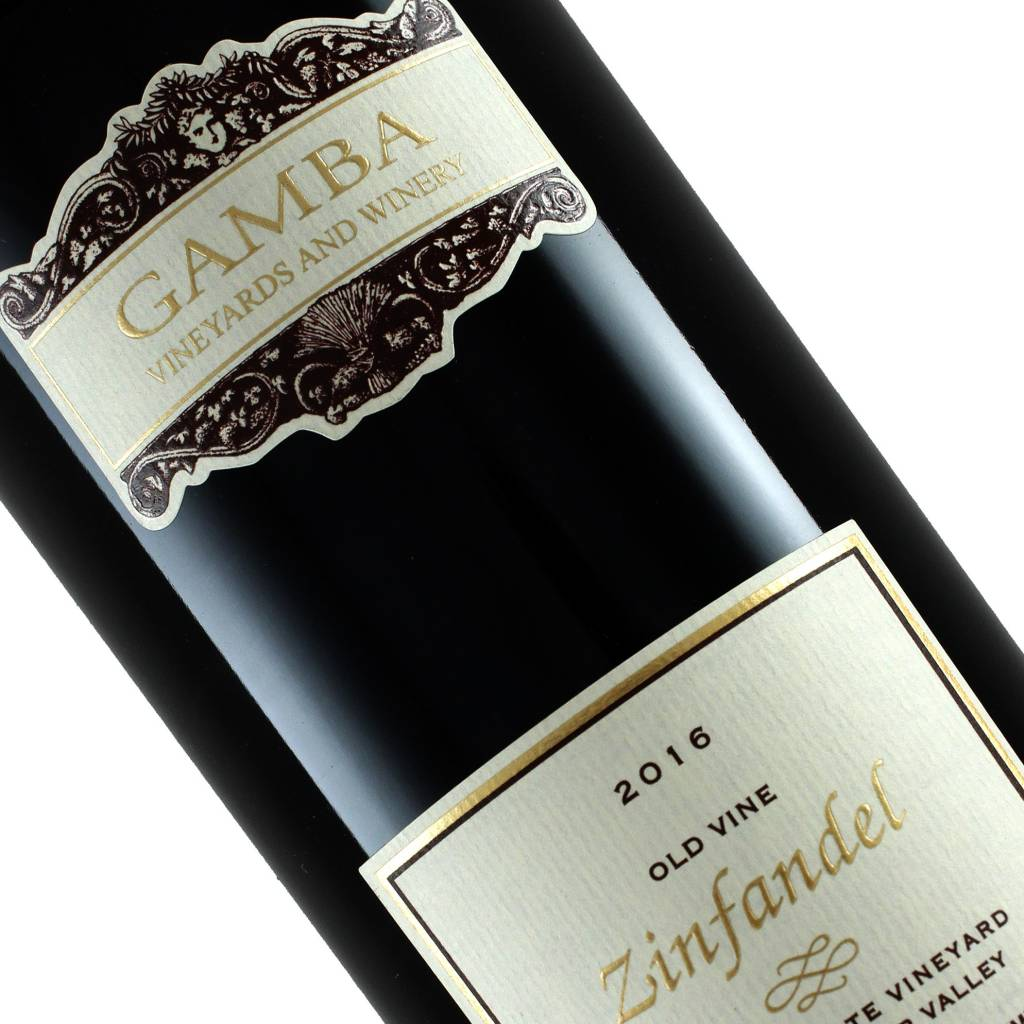 Gamba 2016 Old Vine Zinfandel Russian River Valley