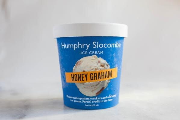 Humphry Slocombe Honey Graham Ice Cream Pint, San Francisco
