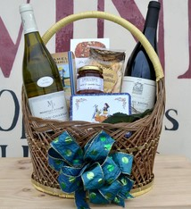 """French Bistro"" French Wine Gift Basket. """
