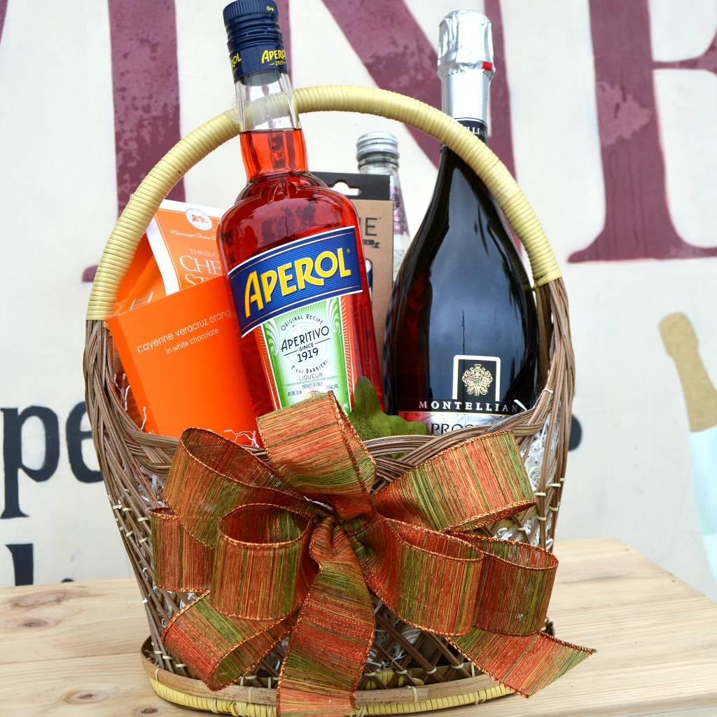"""The Aperol Spritz"" Gift Basket"