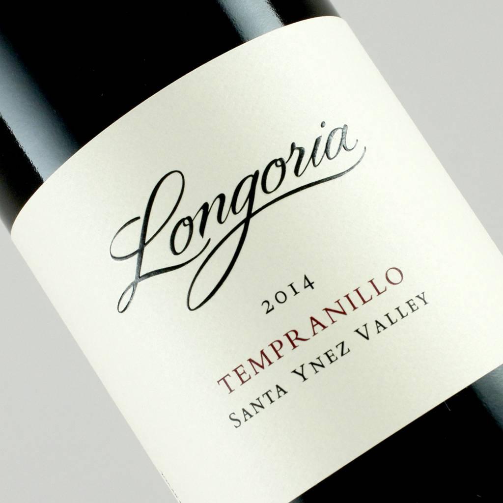 Longoria 2014 Tempranillo Santa Ynez Valley