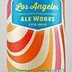 "Los Angeles Ale Works ""Zebra Stripe"" Milkshake IPA, California"