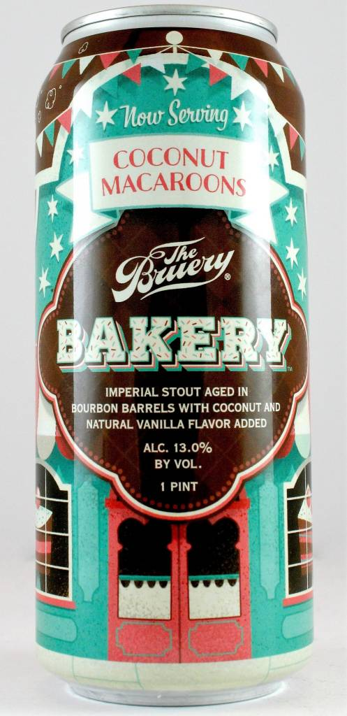 "The Bruery ""Bakery Coconut Macaroons"" Imperial Stout with Coconut & Vanilla, California"