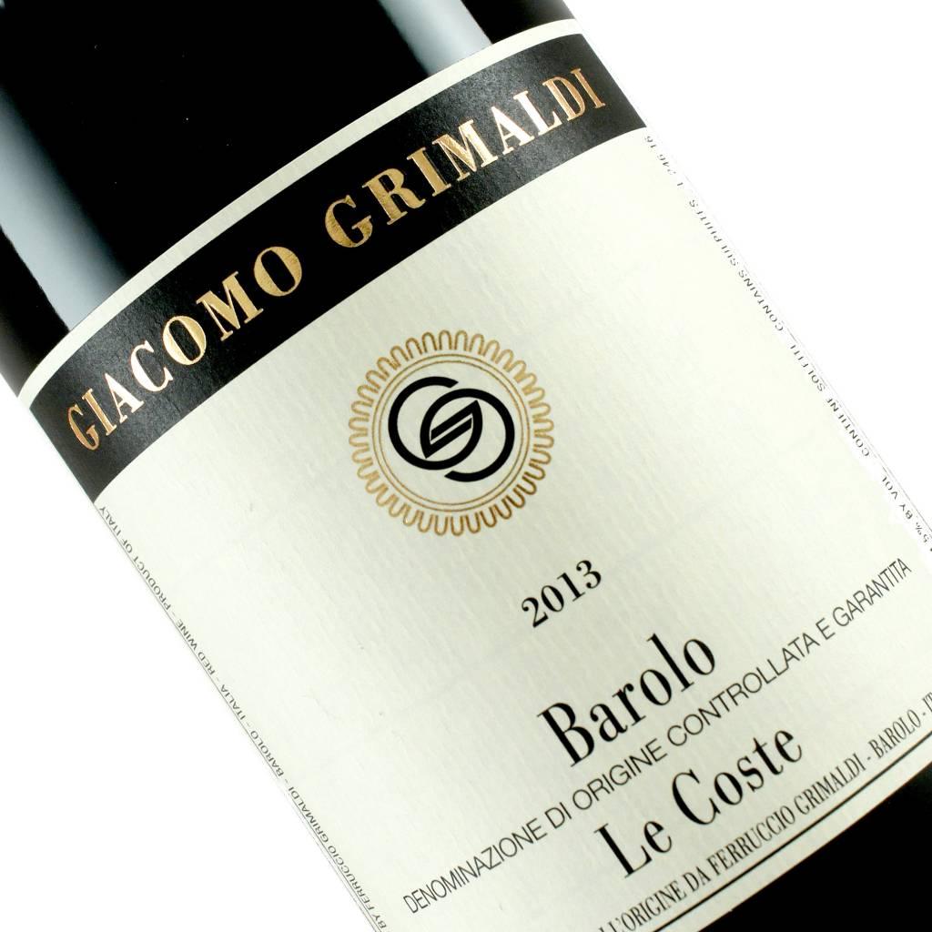Giacomo Grimaldi 2013 Barolo Le Coste, Piedmont