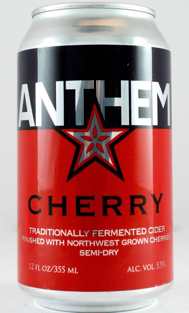 Anthem Cherry Semi-Dry Cider 12oz., Oregon
