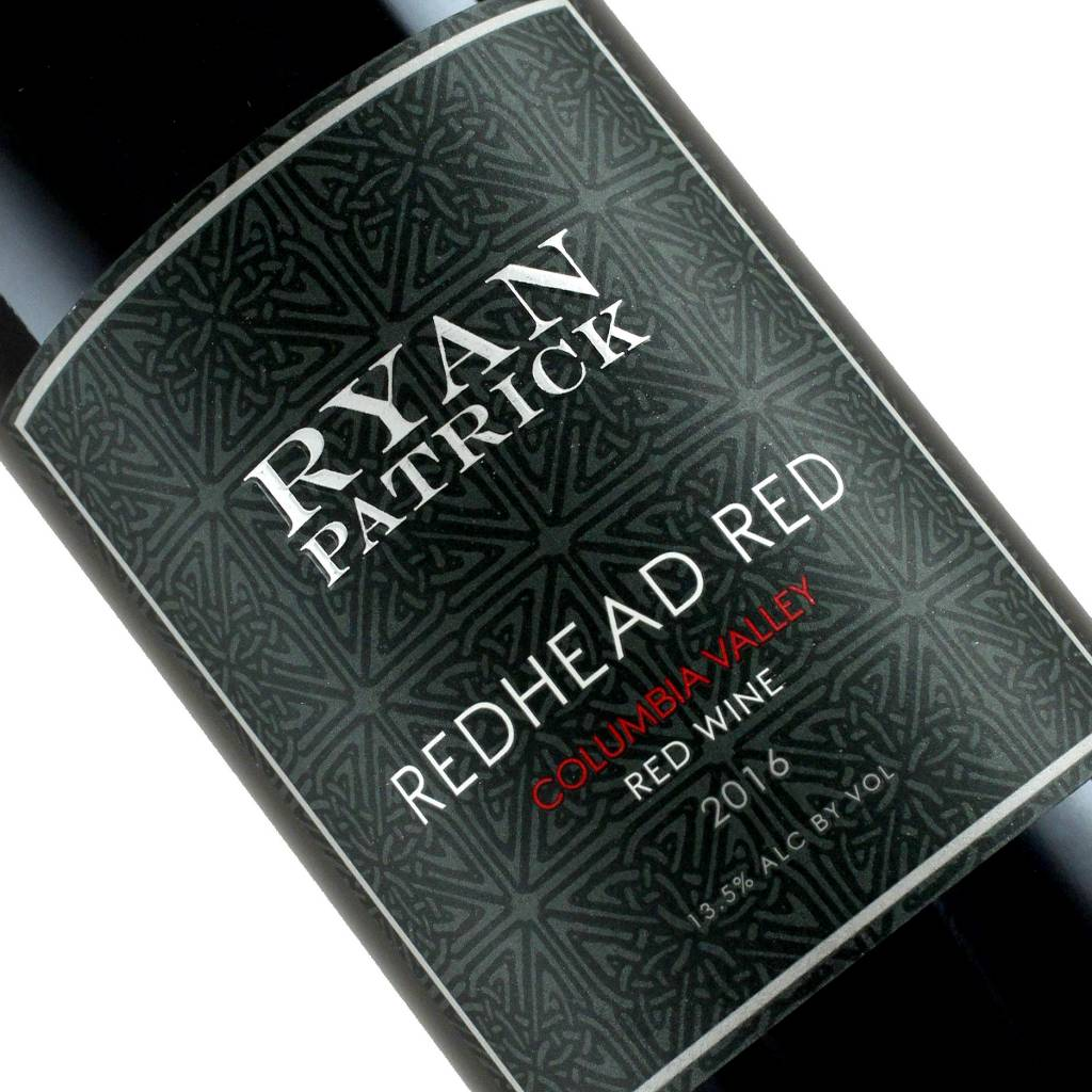"Ryan Patrick 2016 ""Redhead Red"" Red Wine Columbia Valley, Washington"